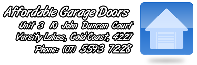 CLICK to go GALLERY! Affordable Garage Doors Gold Coast