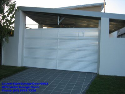 Louver Style Garage Doors