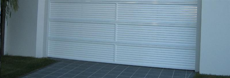 ... Louver Garage Door ...