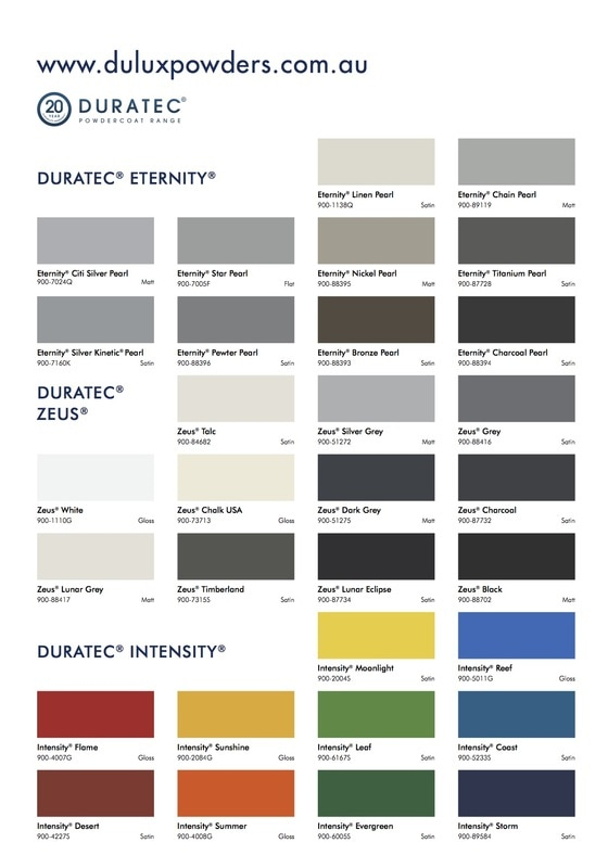 Dulux Aus Powder Colour Selector 1