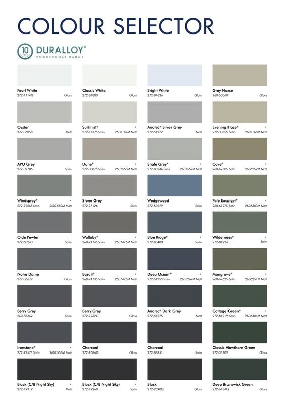 Dulux Aus Powder Colour Selector 3