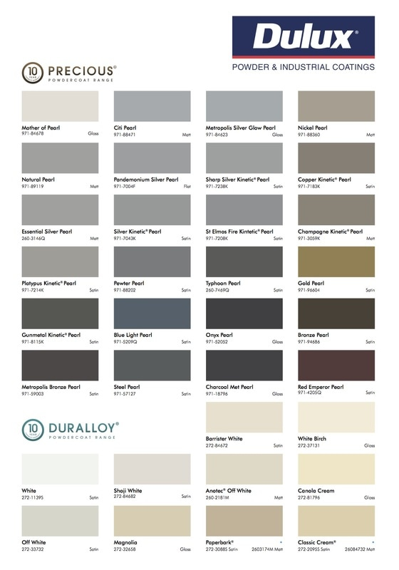 Dulux Aus Powder Colour Selector 4