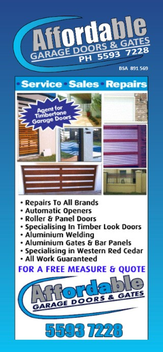 Burleigh Heads garage door solutions
