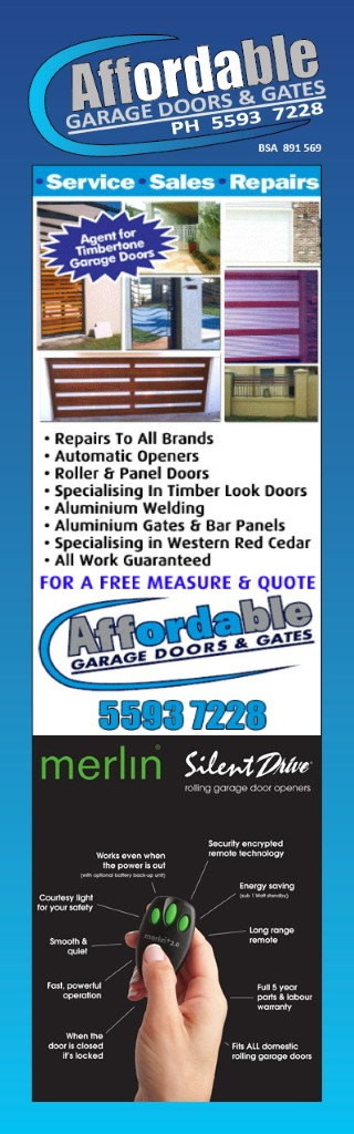 Willow Vale Gold Coast Garage Doors