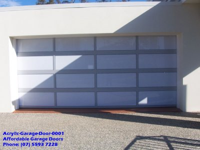 Acrylic Garage Door 0001