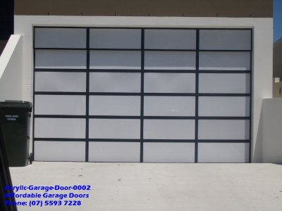 Acrylic Garage Door 0002