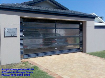 Acrylic Garage Door 0010