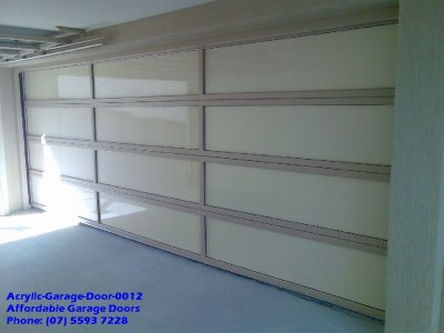 Acrylic Garage Door 0012