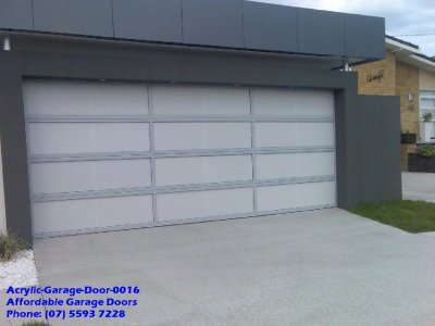 Acrylic Garage Door 0016