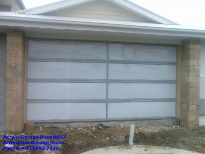 Acrylic Garage Door 0017
