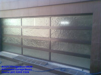 Acrylic Garage Door 0020