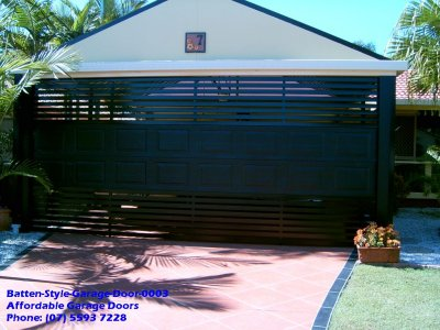 Batten Style Garage Door 0003