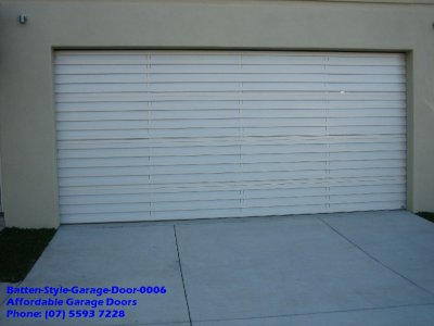 Batten Style Garage Door 0006