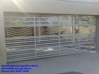 Batten Style Garage Door 0010
