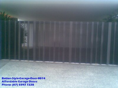 Batten Style Garage Door 0014