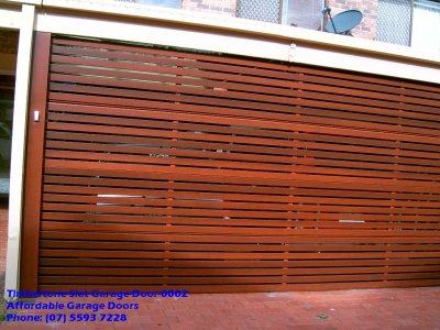 Timbertone Slat Garage Door 0002